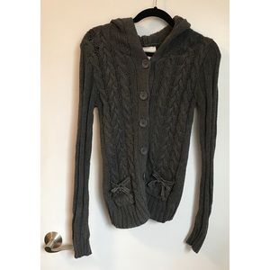 American Eagle Cable-knit Cardigan